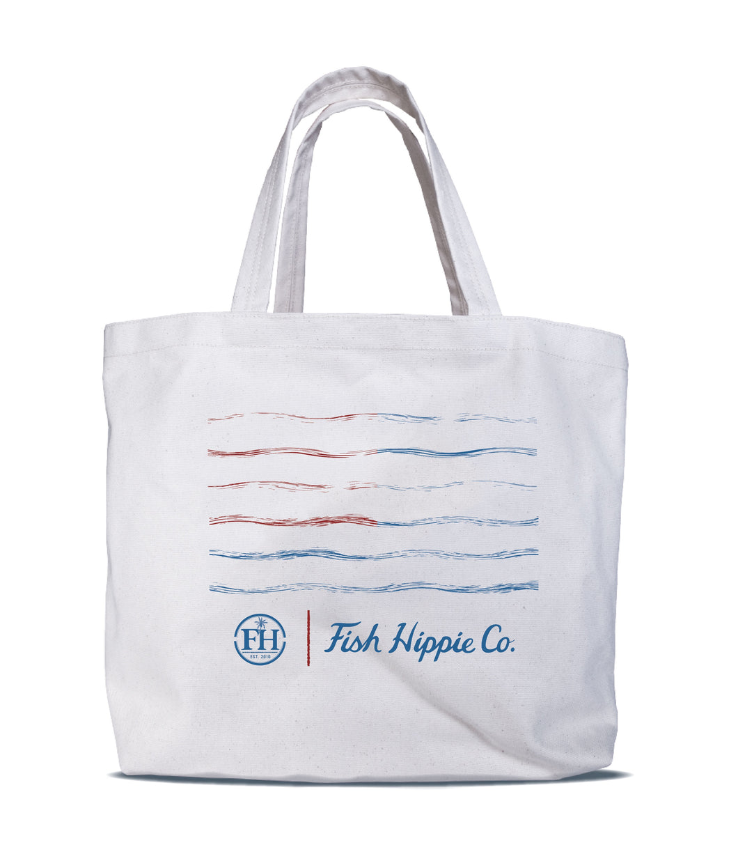 Banner Day Canvas Tote