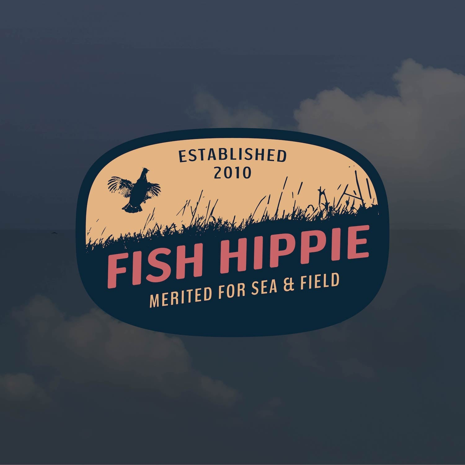 Sea and Field Sticker