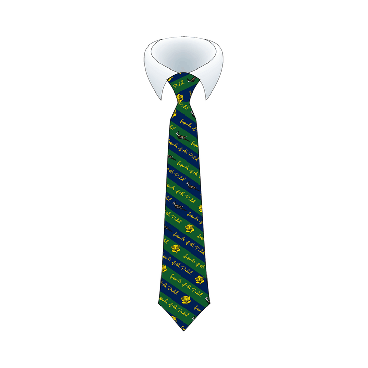 Legends Of The Pedal Neck Tie