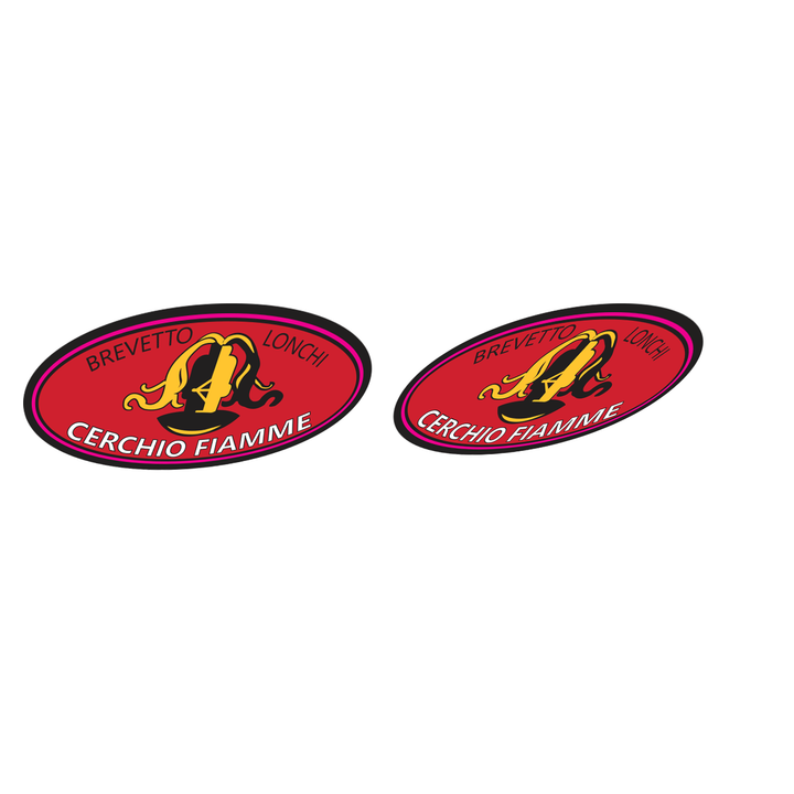 Fiamme 60s RL Rim Vinyl Decal Set