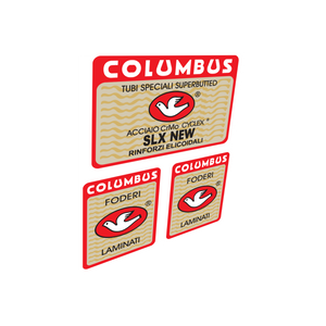 Columbus SLX New Frame & Fork Vinyl Decals