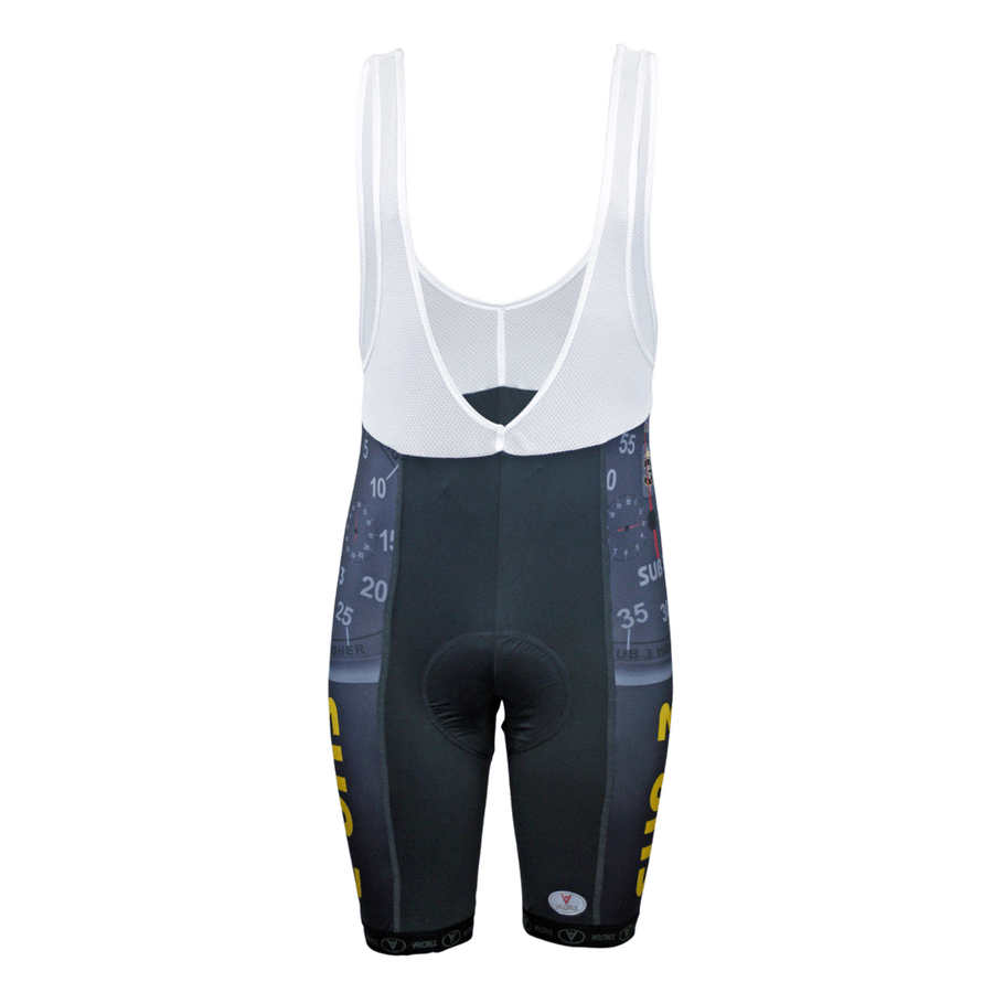 Sub 3 Cycling Bib Shorts Mens Red Label