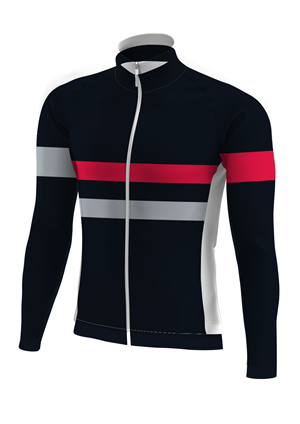 Cycling 04 Long Sleeve Jersey. (x 1)