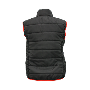 PCSA KZN Ladies Puff Gilet Black