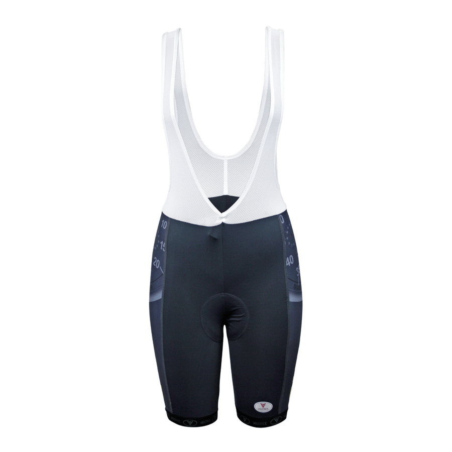 Sub 3 Cycling Bib Shorts Ladies Red Label