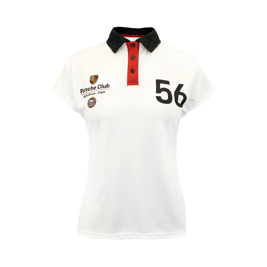 PCSA Cape Golf Shirt Ladies Vento White