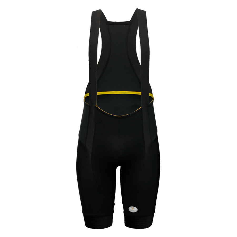Cycling Bib Shorts Mens Yellow Label