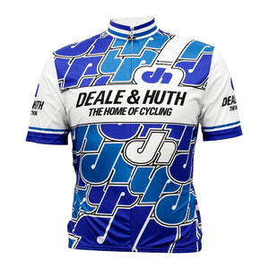 Deale & Huth Retro Cycling Jersey Vento