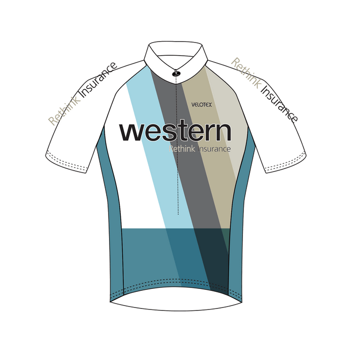 Western Insure Cycling Jersey Mens Vento