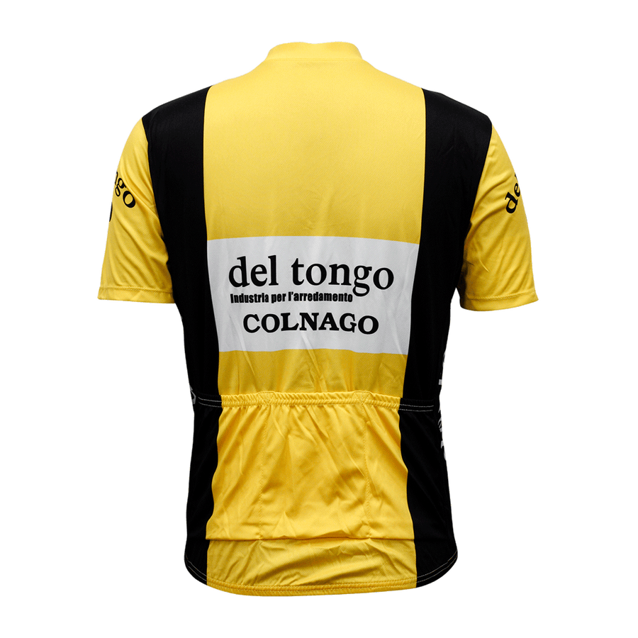 Del Tongo Retro Cycling Jersey Mens Vento