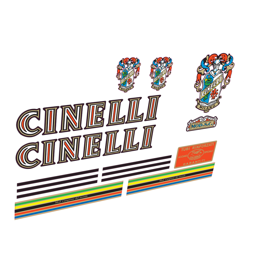 Cinelli 50s Vinyl/Foil Decal Set