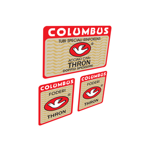 Columbus Thron Frame & Fork Vinyl Decals