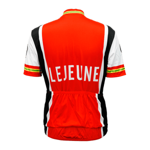 Lejeune Retro Cycling Jersey Mens Vento