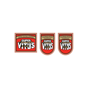 Super Vitus 971 Vinyl Decal Set Fr & Frk
