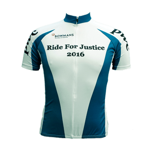 Ride for Justice Cycling Jersey Mens Vento