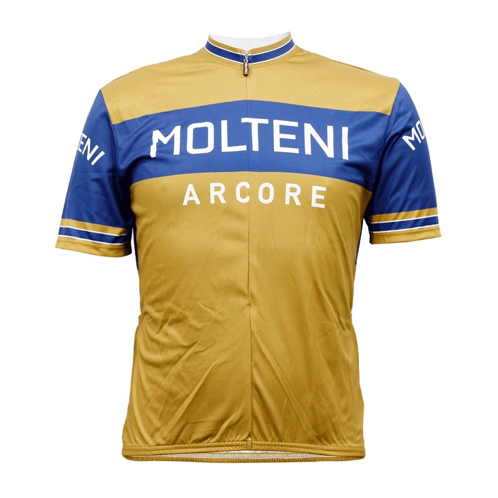 Molteni Retro Cycling Jersey Mens Vento