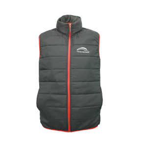 PCSA Central Puff Gilet Mens Black