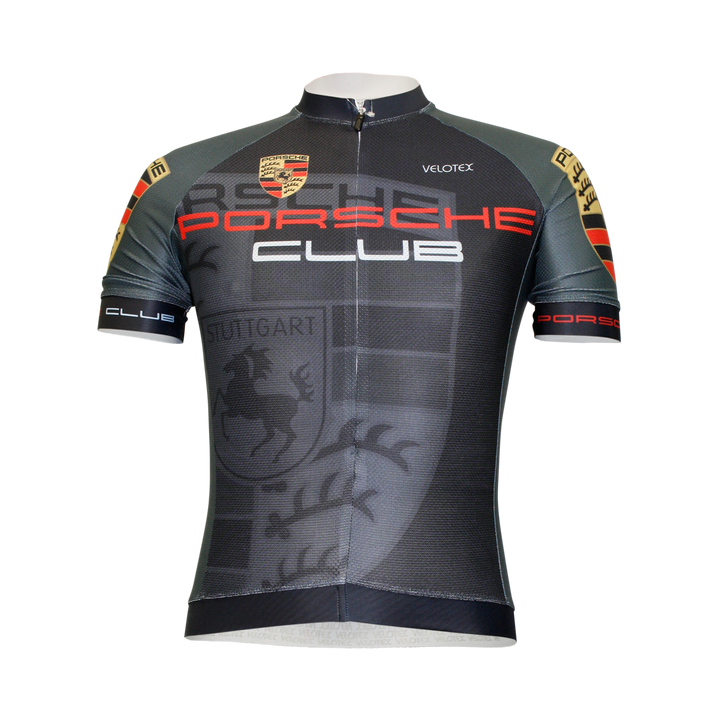 Porsche Club Cycling Jersey Mens Polyvent
