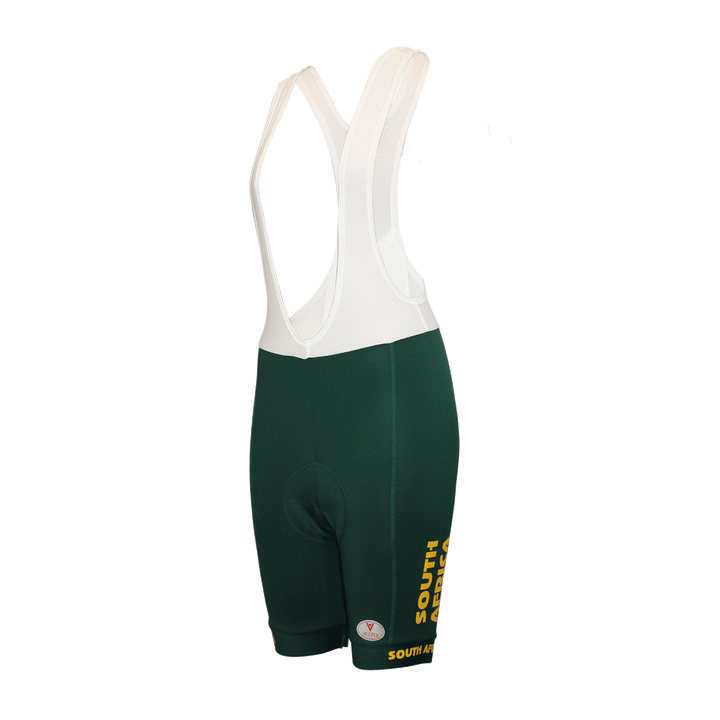 South Africa Cycling Bib Shorts Ladies Red Label