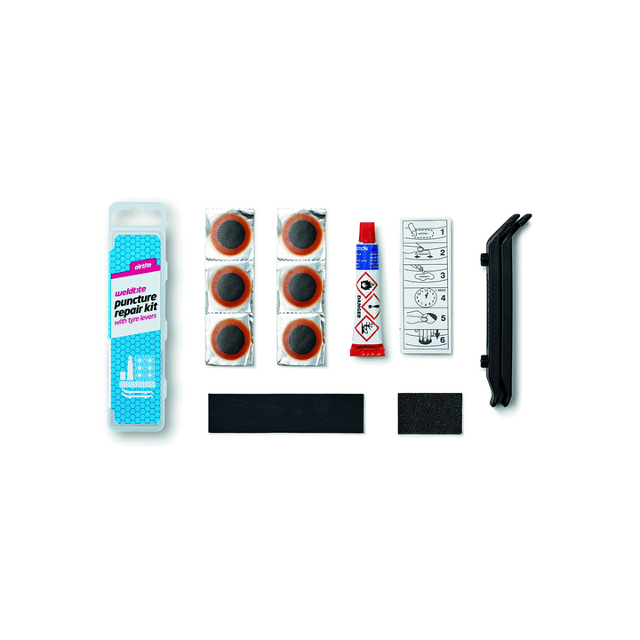 Airtite Puncture Repair Kit with Tyre Levers