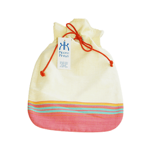 Kiboko Khaya Hot Water Bottle Cover Yellow