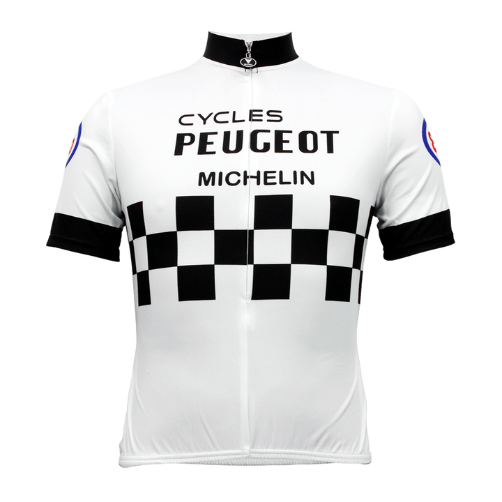 Peugeot Retro Cycling Jersey Mens Vento