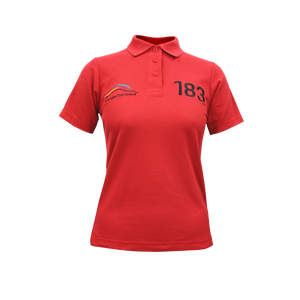 PCSA Central Golf Shirt Ladies Red