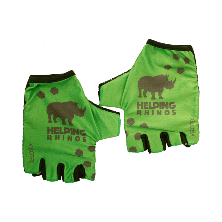 Helping Rhinos Cycling Mitts