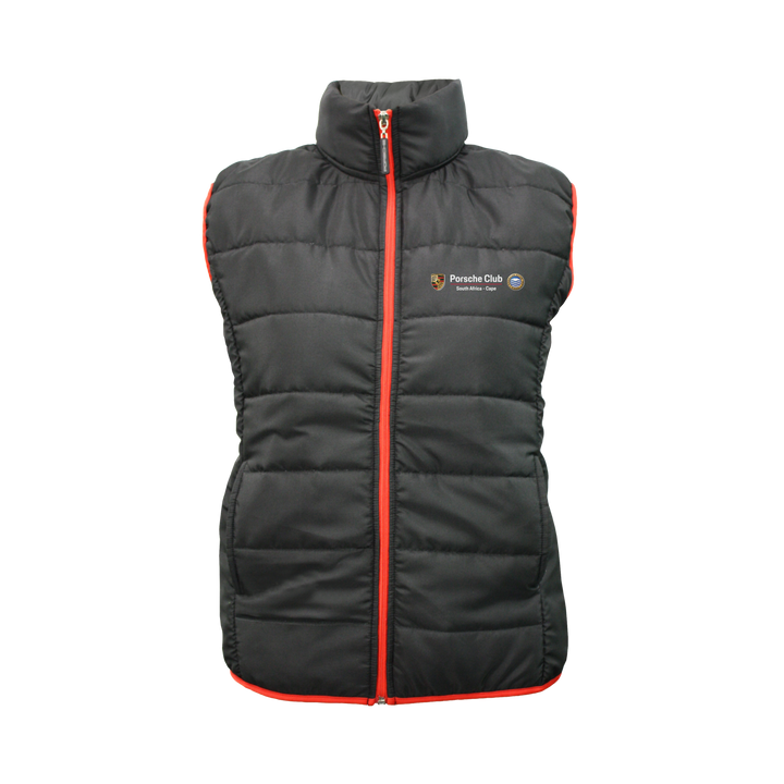 PCSA Cape Puff Gilet Ladies Black