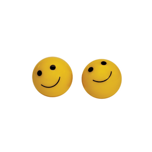 Smiley Face Valve Caps Schrader (2 pack)