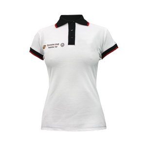 PCSA Cape Golf Shirt Ladies Cotton White