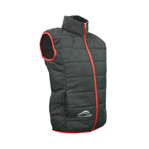 PCSA Central Puff Gilet Lds Black
