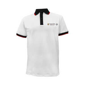 PCSA Cape Golf Shirt Mens Cotton White
