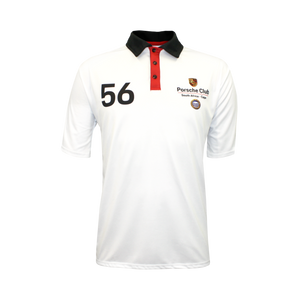 PCSA Cape Golf Shirt Mens Vento White