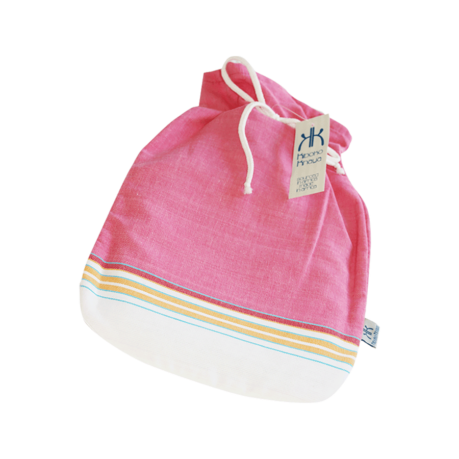 Kiboko Khaya Hot Water Bottle Cover Pink