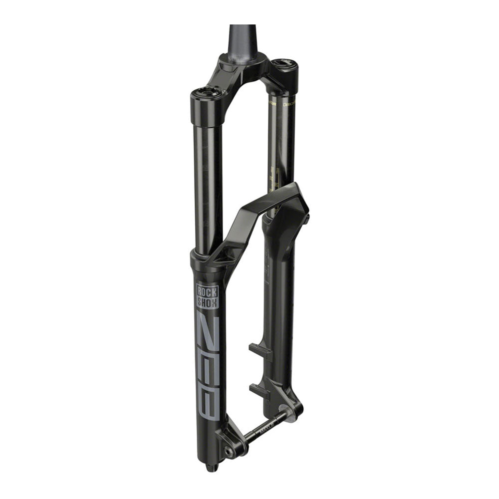 "RockShox ZEB Select Charger RC Suspension Fork - 27.5"", 160 mm, 15 x 110 mm, 38 mm Offset, Diffusion Black, A1"