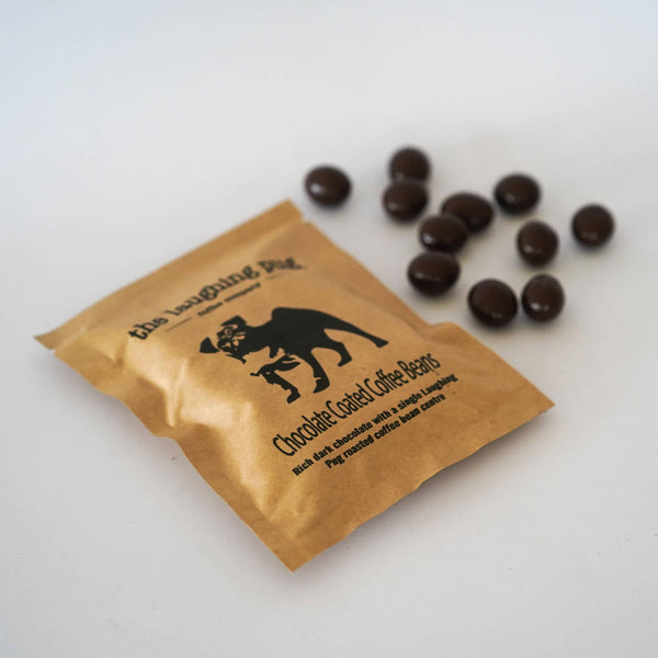 Premium dark chocolate coated roasted coffee beans (50g) - Funnel Special