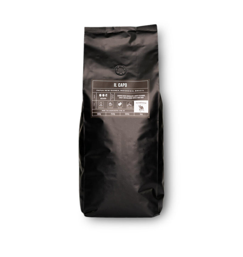 IL CAPO BLEND (GROUND AND WHOLE BEANS)