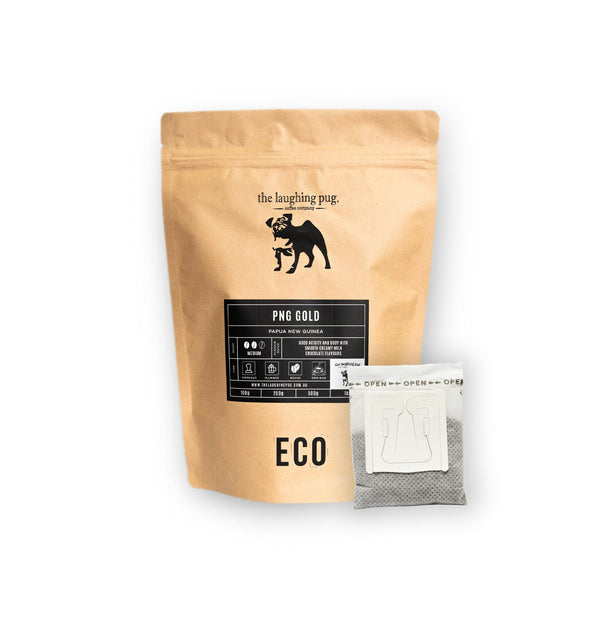 Drip Coffee Bags: Resealable Eco Packet