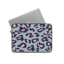 Load image into Gallery viewer, BLUE LEOPARD Laptop Sleeve