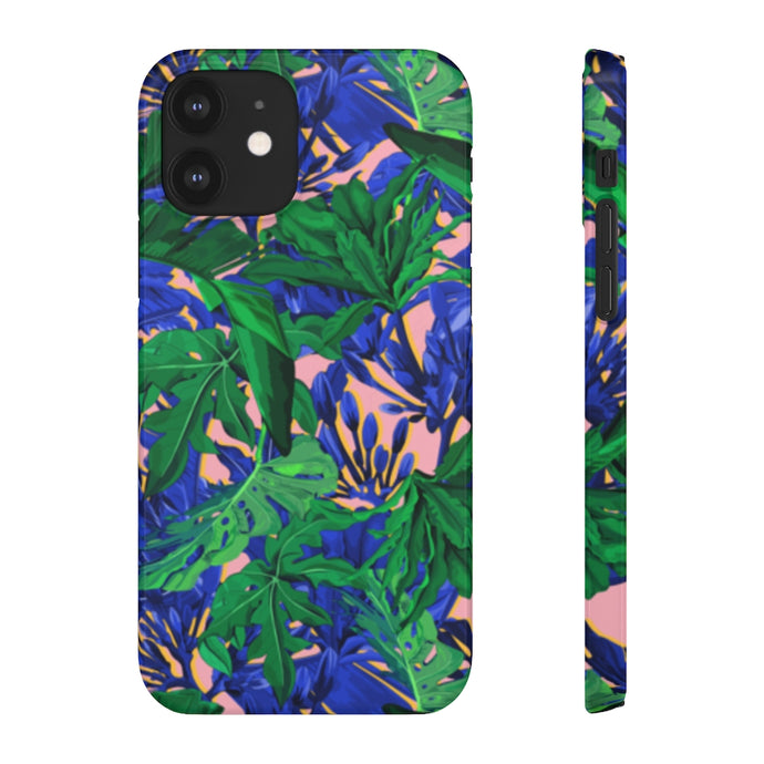 PINK BANANA LEAVES Limited Phone Case