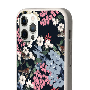MIDNIGHT FLOWERS Biodegradable Case