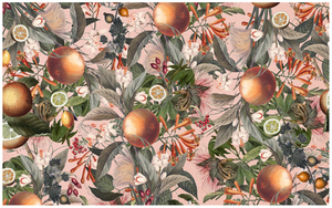 ORANGE BLOOM Wrapping paper x3