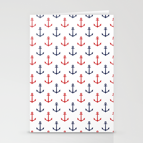 ANCHORS Greeting Card