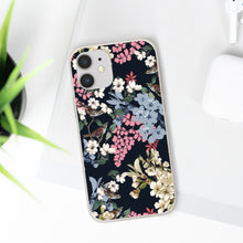 Load image into Gallery viewer, MIDNIGHT FLOWERS Biodegradable Case