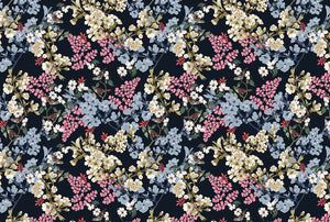 MIDNIGHT FLOWERS Wrapping paper