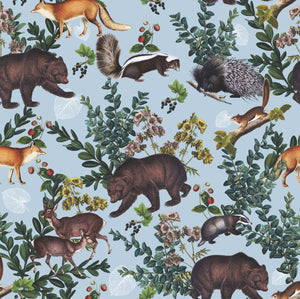 BEARS Wrapping Paper x3