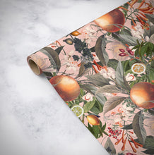 Load image into Gallery viewer, ORANGE BLOOM Wrapping paper