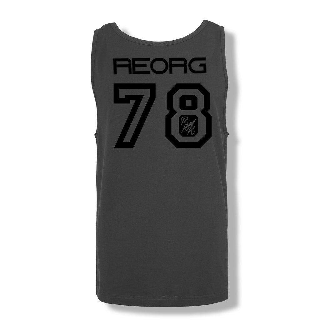 RK x REORG Functional Vest - Charcoal