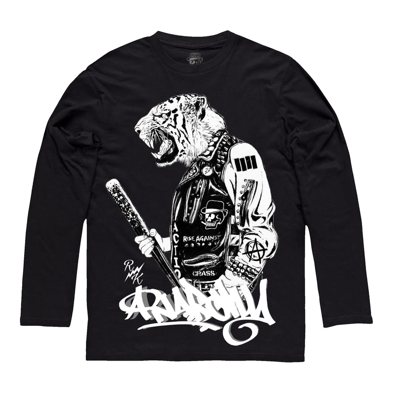 *NEW-IN* RK Anarchy Tiger Long-sleeve Tee